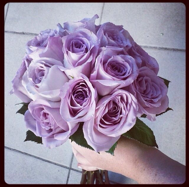Mauve Rose bridal bouquet by Amity Blooms - bride, wedding, roses, bridesmaid - www.amityblooms.com