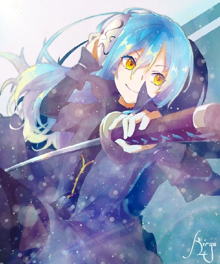 Pin by darryl reyes on 전생했더니욬라임이었던건에뜀하여 anime kawaii