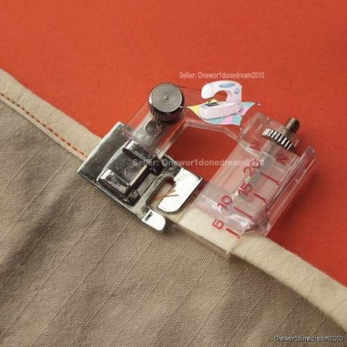 New-Snap-on-Adjustable-Bias-Binder-Foot-For-Brother-Singer-Janome-Sewing-Machine