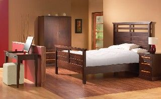 Comfy bedroom furniture from Simply Wood  http://www.simplywood.com/