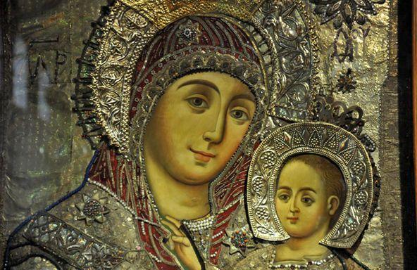 Παναγία Ιεροσολυμίτισσα : H Παναγία Βηθλεεμίτισσα