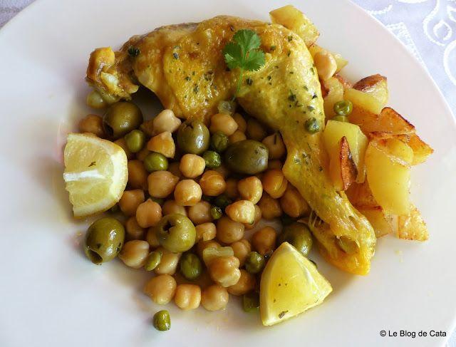 Blogul lui Catalina: Tajina cu pui si cartofi