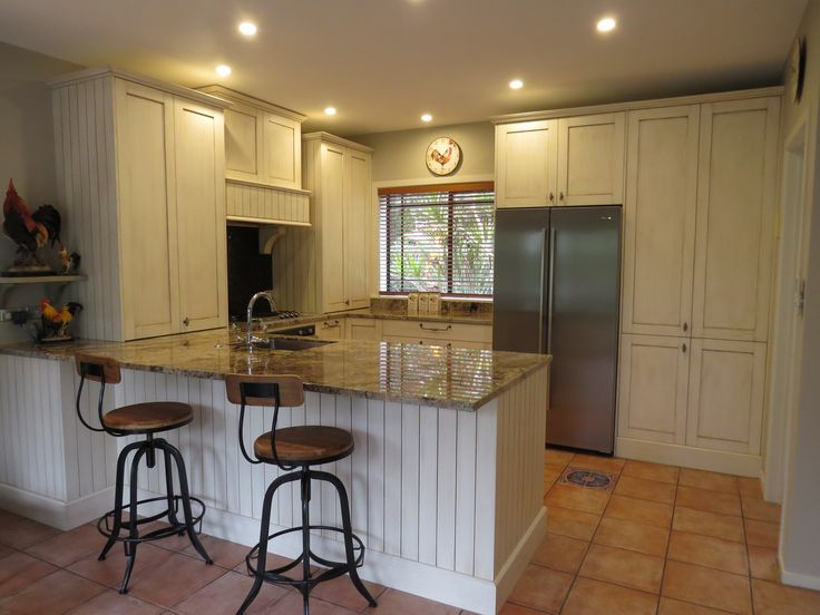 French Provincial influenced kitchen