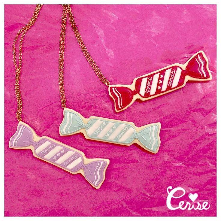 キャンディモチーフのアイシングクッキーネックレスが入荷してきました 程よいボリューム感のあるネックレスなのでシンプルなコーディネートのポイントにピッタリ . #cerisestore #toyme #icingcookie . http://ift.tt/2m3Z8d7