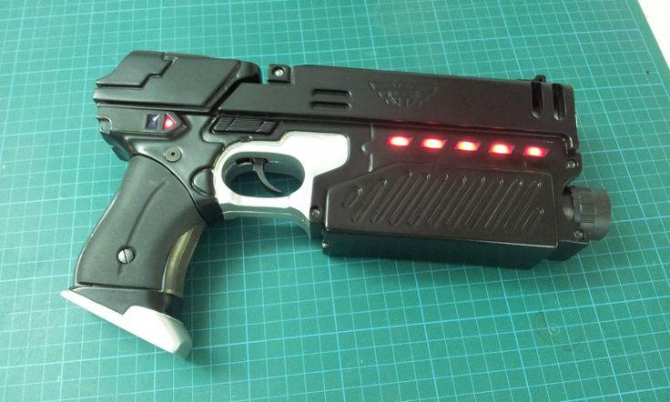 Plecter Labs - Articles - DIY Projects & Props - SD Studio Lawgiver Mark II & Model Gun