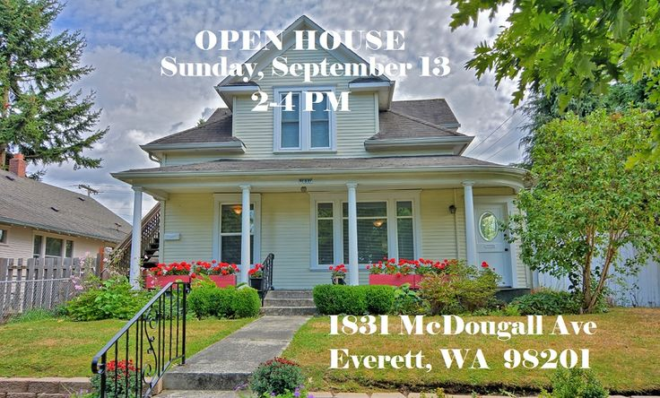 OPEN HOUSE Everett WA Sunday 9/13 2-4 PM  Legal Duplex that has been renovated throughout.  Upgraded kitchen, renovated bath, new flooring, paint, and more.  Let your tenant pay the mortgage while you enjoy this stunning home OR buy as investment to enjoy your profit!  #everett #realestatetips #kerryannprayrealtor