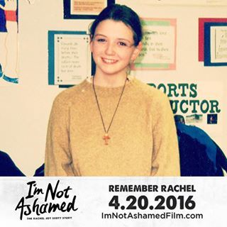 I'm Not Ashamed - The Rachel Joy Scott Columbine Story - I'm