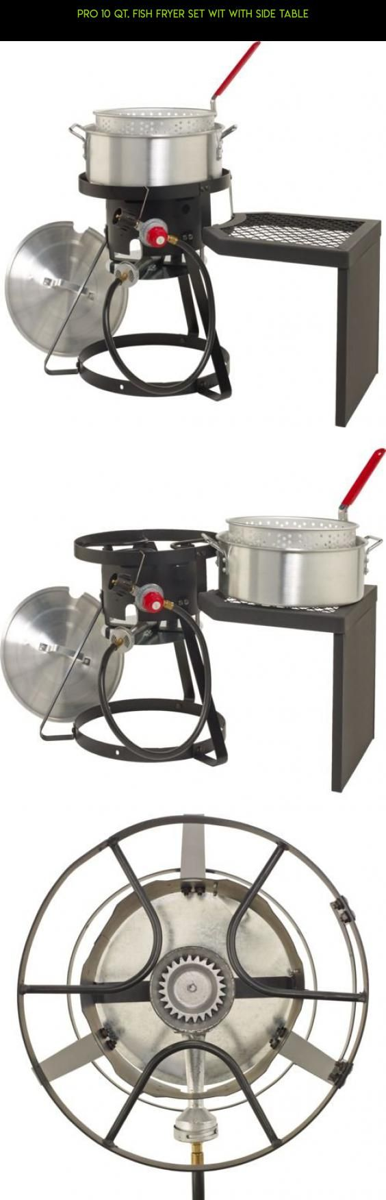 Pro 10 qt. Fish Fryer Set wit with Side Table #fpv #disc #gadgets #products #parts #outdoor #plans #tech #technology #drone #kit #racing #cooking #camera #shopping