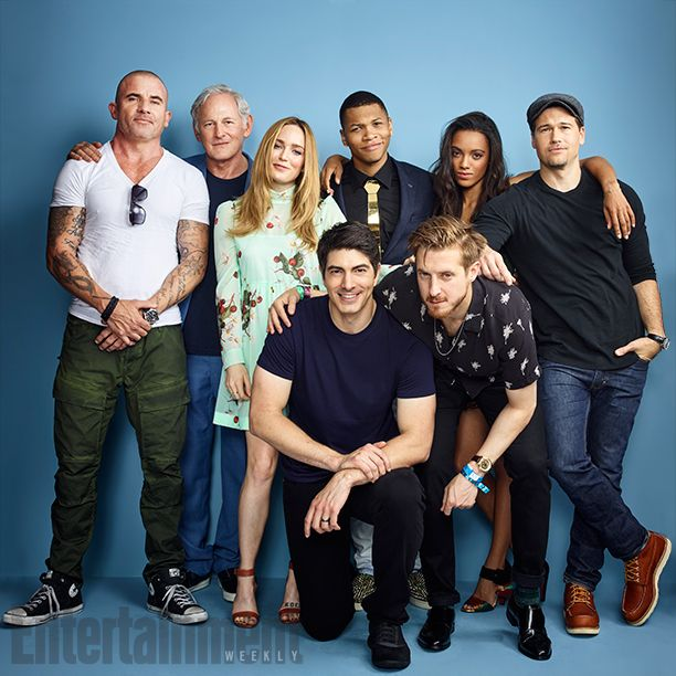 Comic-Con 2016 Star Portraits: Day 3 | Dominic Purcell, Victor Garber, Caity Lotz, Brandon Routh, Franz Drameh, Arthur Darvill, Maisie Richardson-Sellers and Nick Zano, 'DC's Legends Of Tomorrow' | EW.com
