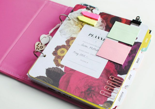 This Fashion is Mine: My Planner Setup | Project Life & Crafting
