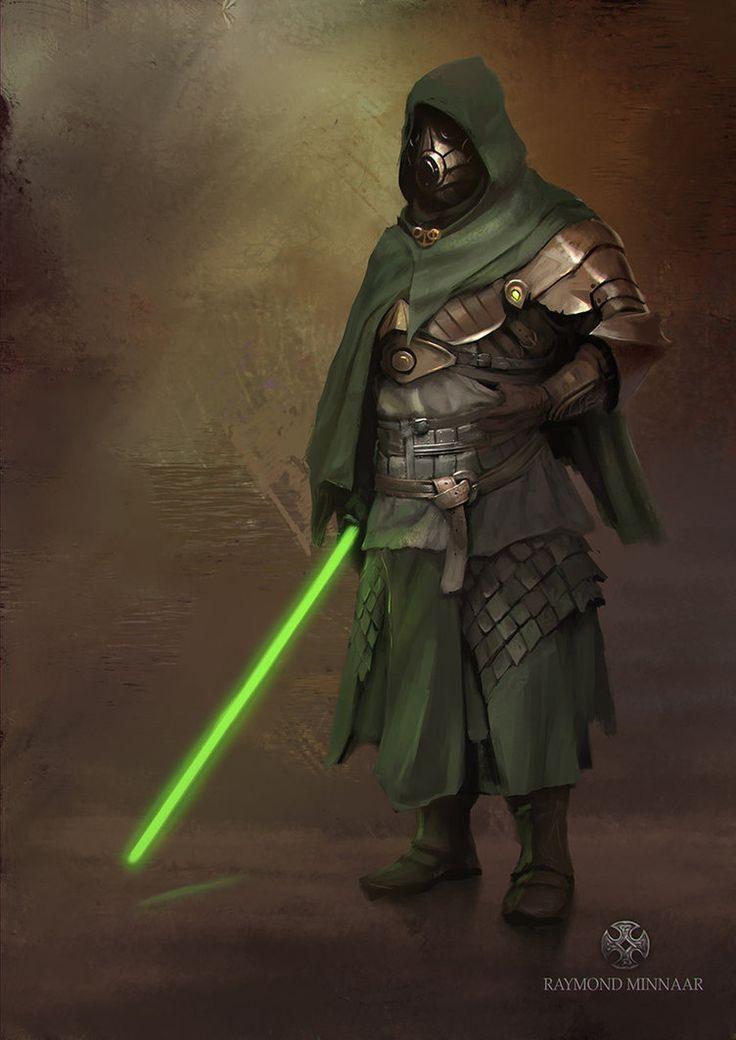 Midieval Jedi by RaymondMinnaar on DeviantArt