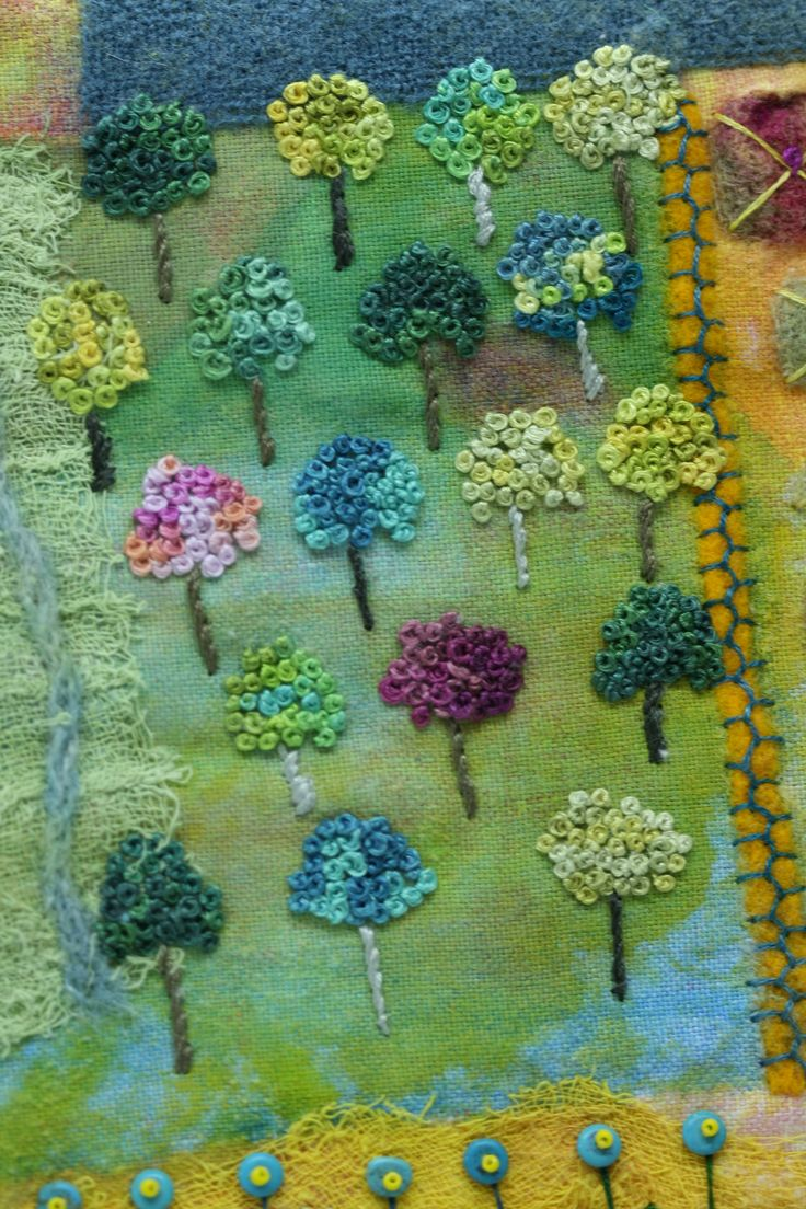 Small Orchard, by Nancy Claiborne at Studio 508.