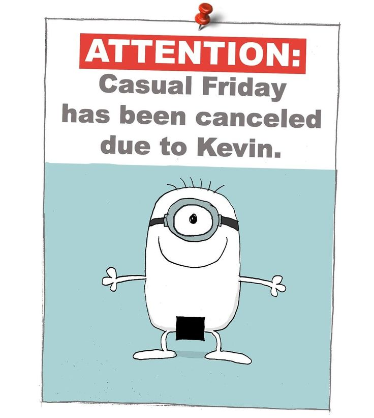 Funny Meme Naughty : Casual friday is ruined thanks kevin funny