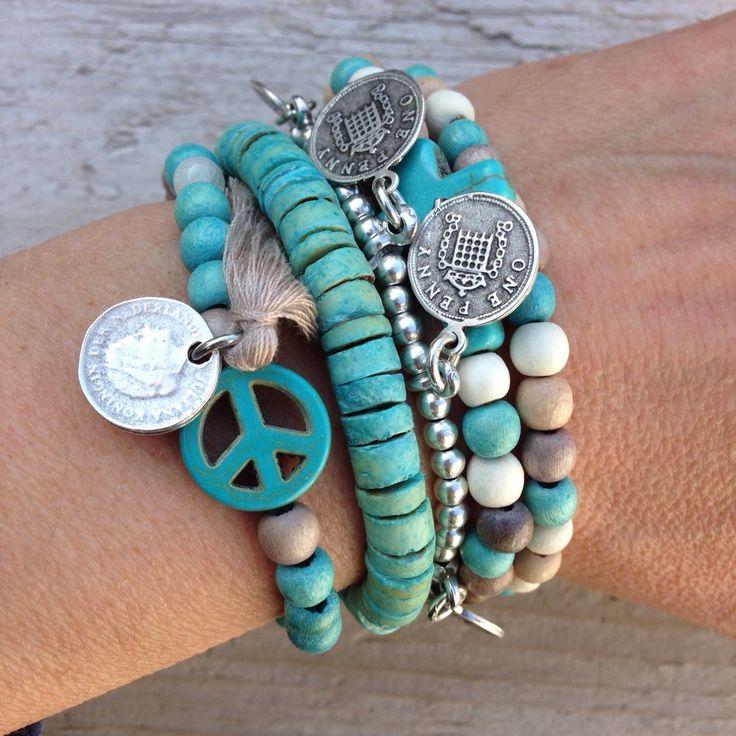 #label160 #handmade #sieraden #leer #stoer #armband #armbanden #jewelry #bracelet #armcandy #leather #nikkelvrij #kralen #beads #style #spring #ibiza #bohemian