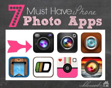 7 Must Have iPhone Photo Apps   MyBlessedLife.net