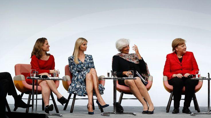 Most beautiful Ivanka @G20 'empowerer of women' https://www.rt.com/usa/386123-ivanka-booed-womens-empowerment/