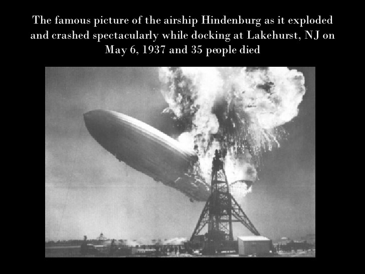 Image result for sam shere explosion of the hindenburg 1937