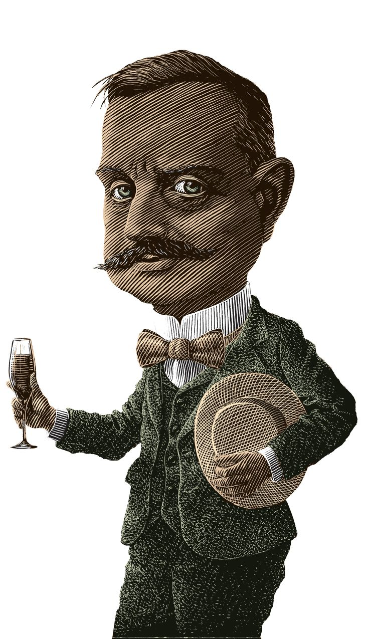Jean Sibelius (1865-1957), Illustrated by Lasse Rantanen