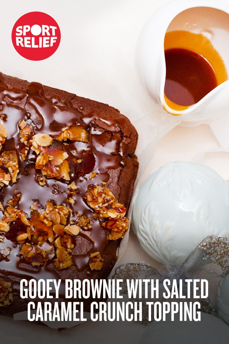 Has GBBO inspired you to get busy in the kitchen? Get baking with the kids for a good cause with these chocolate brownies topped with salted caramel. Perfect for a Sports Relief bake sale!