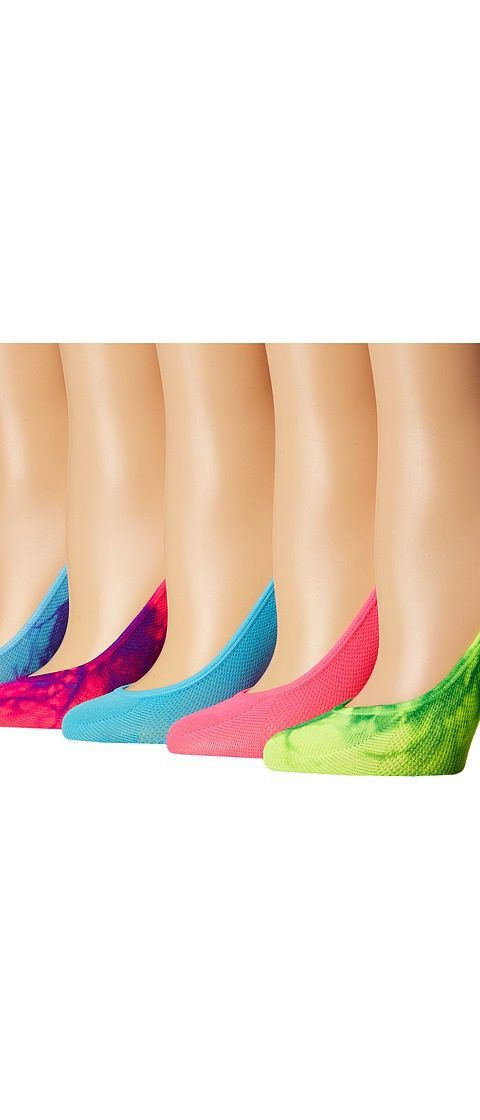 Steve Madden 5-Pack Tie-Dye Mesh Footie (Neon Multi) Women's Crew Cut Socks Shoes - Steve Madden, 5-Pack Tie-Dye Mesh Footie, SM27481B, Footwear Socks Crew Cut, Crew Cut, Socks, Footwear, Shoes, Gift, - Street Fashion And Style Ideas