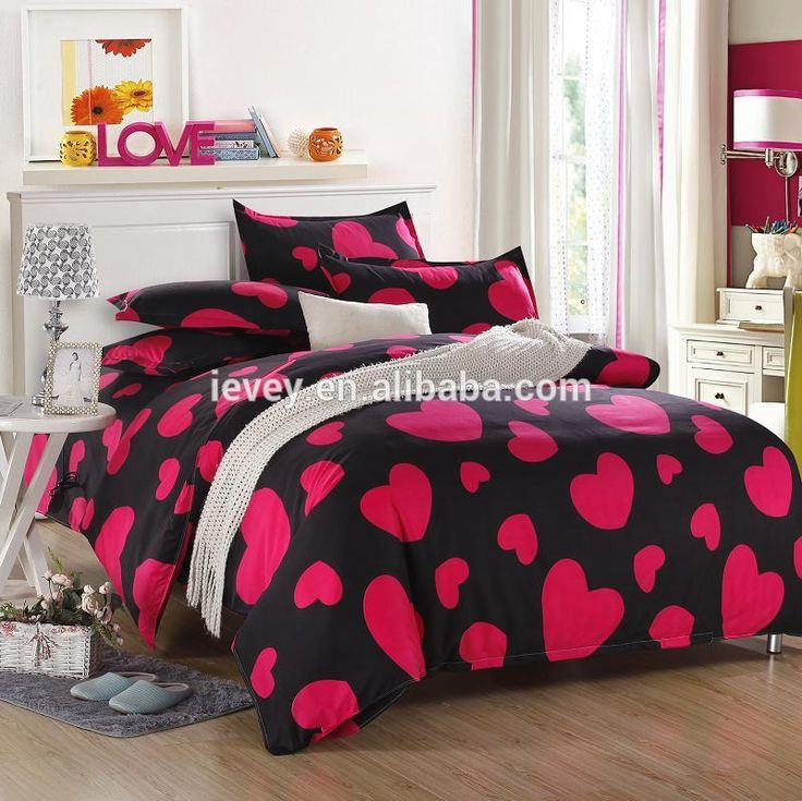 The Nordic Style Bedding Set Duvet Cover Twin Full Queen Size Bed Printed Sheet Linen Bedclothes Pillowcase
