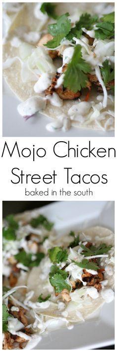 Mojo Chicken Street Tacos