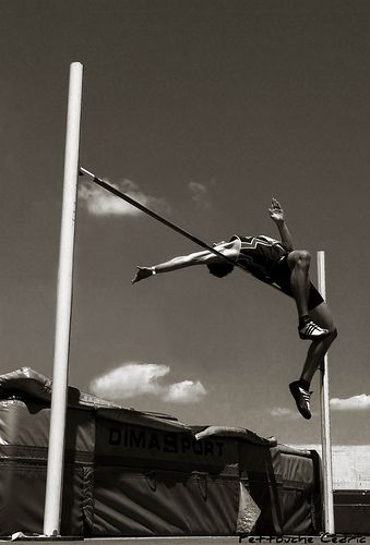 High jump....if only i could jump that high.  Comment down below how high you can jump I can jump 1.34m