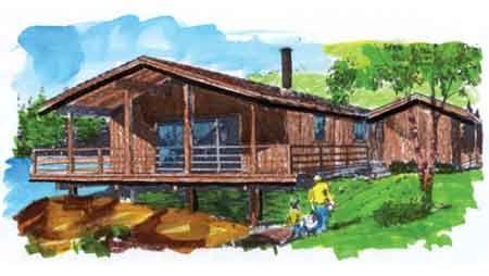 The Beachcomber House Plan - 1365