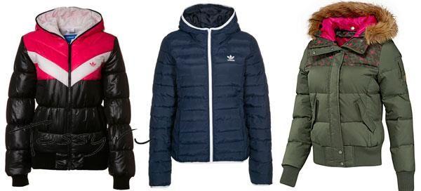 Зимняя спортивная куртка адидас женская