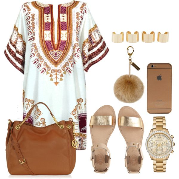 A fashion look from November 2015 featuring Sol Sana sandals, Michael Kors tote bags and Michael Kors watches. Browse and shop related looks.