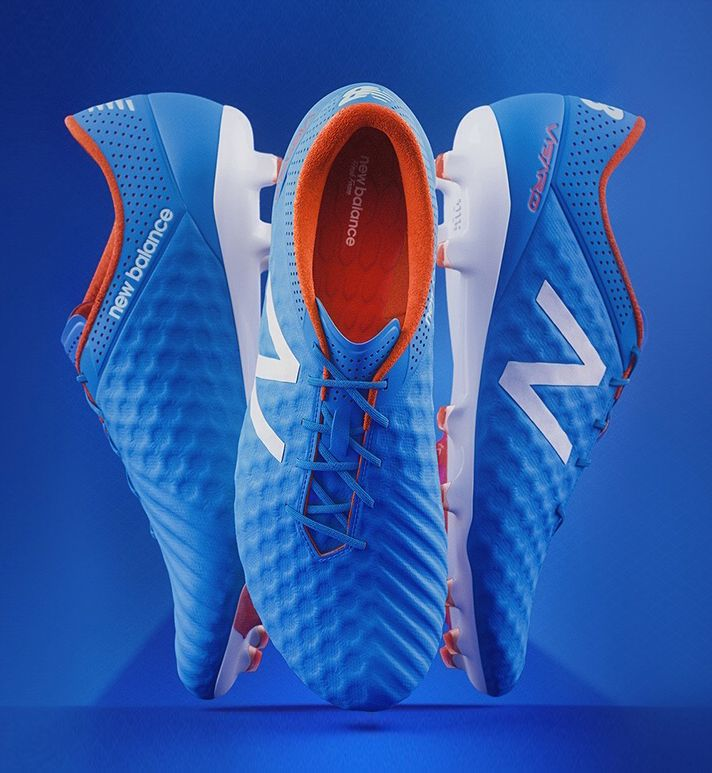 Products we like / Shoes / Foorball / Blue / NB / at leManoosh : Photo
