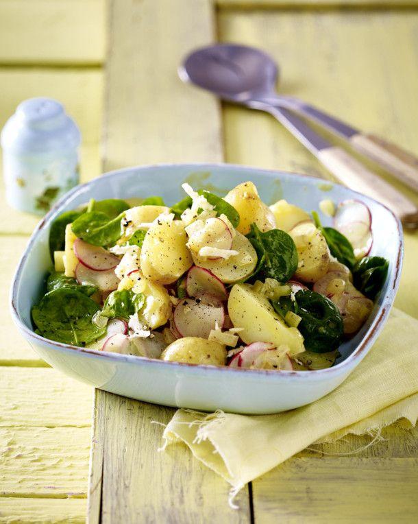 Unser beliebtes Rezept für Kartoffelsalat mit Radieschen und mehr als 55.000 weitere kostenlose Rezepte auf LECKER.de.