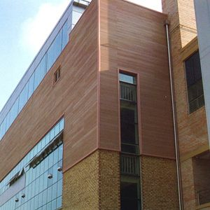 Exterior wood plastic wall panels with durable wpc eco - Pvc exterior wall cladding panels ...
