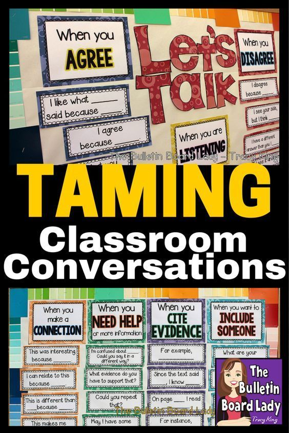 Taming Classroom Conversations and yet encouraging essential learning conversations can be tricky!  In this post learn some ideas for keeping student talking in your classroom but in a constructive way.  Give those talkers something to do and teach them a few manners to boot!