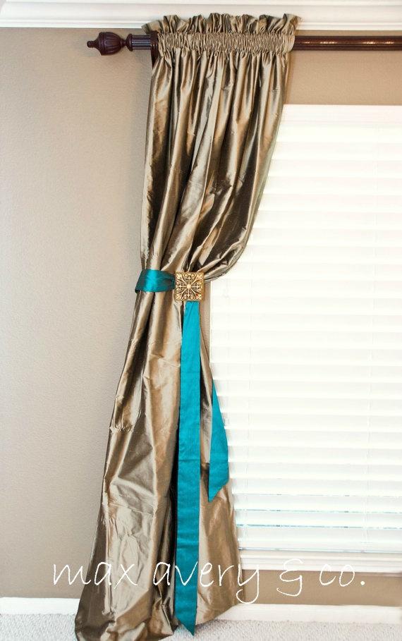 92 Best Curtain Tie Backs Images On Pinterest Curtain