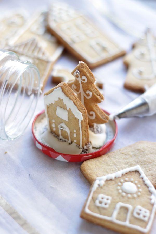 boules de neige con i biscotti