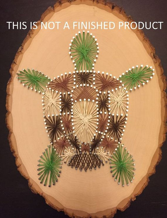 Kit de bricolage - tortue String Art