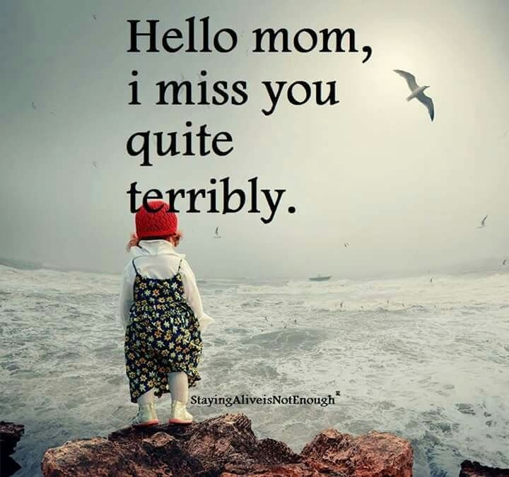 I Miss U Mom And Dad Quotes: The 25+ Best Miss You Mom Ideas On Pinterest