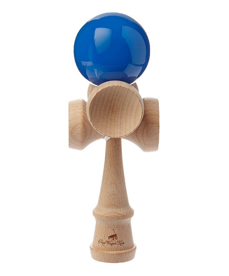 Blue Five-Cup Kendama Toy