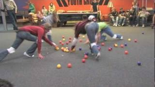 Human Hungry Hungry Hippos. Love the board game. Has to be awesome done in real life.