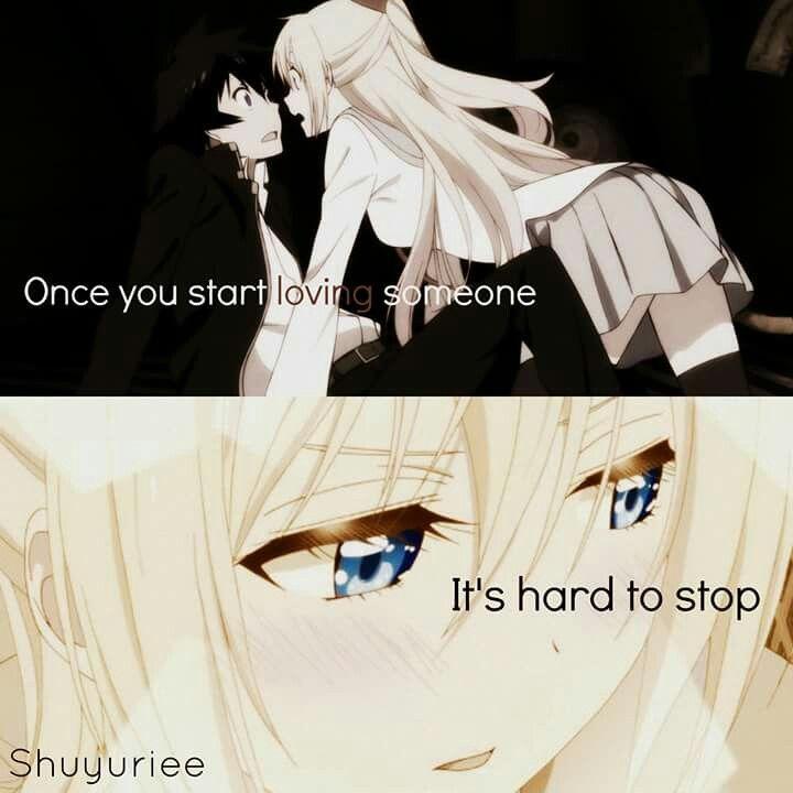 Loving someone anime love quotes anime quotes anime qoutes