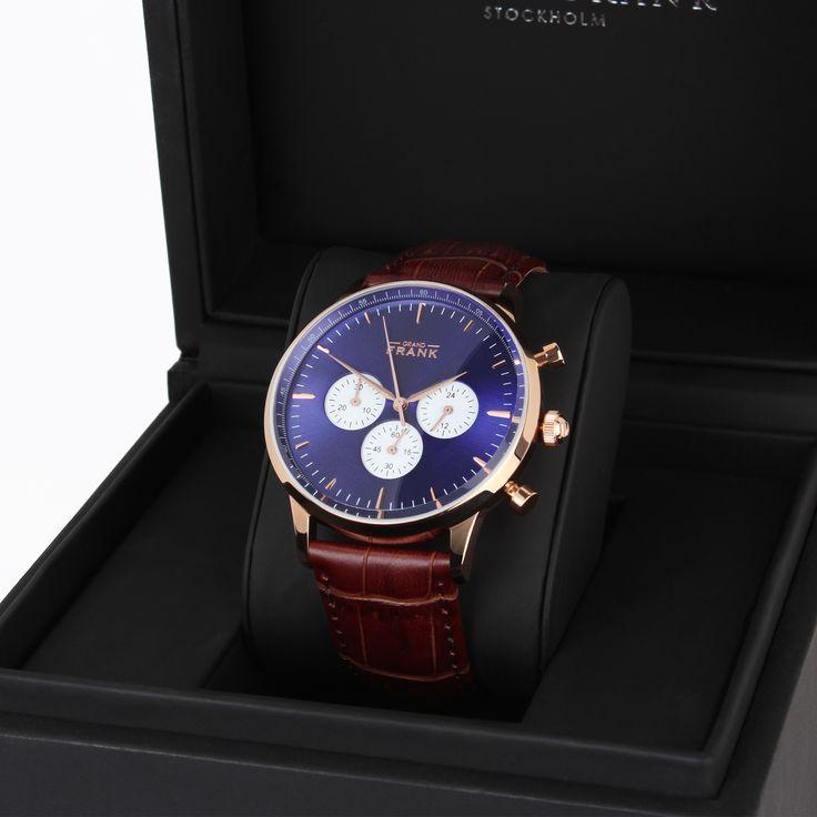 Montpellier Blue Chronograph Watch