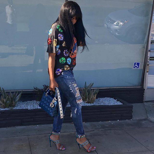 Marlo Hampton  Fashion forward.