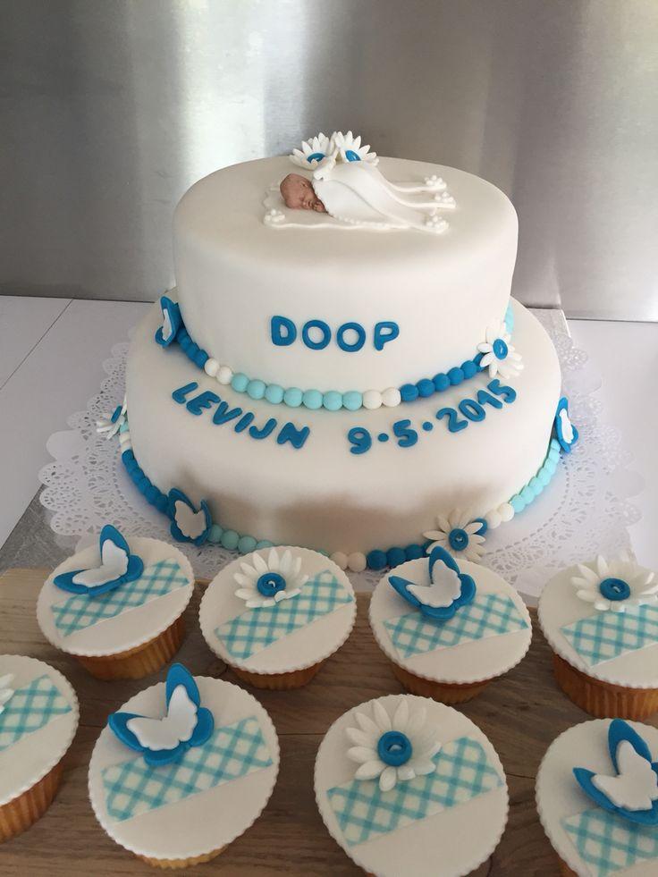 Doop taart & cupcakes