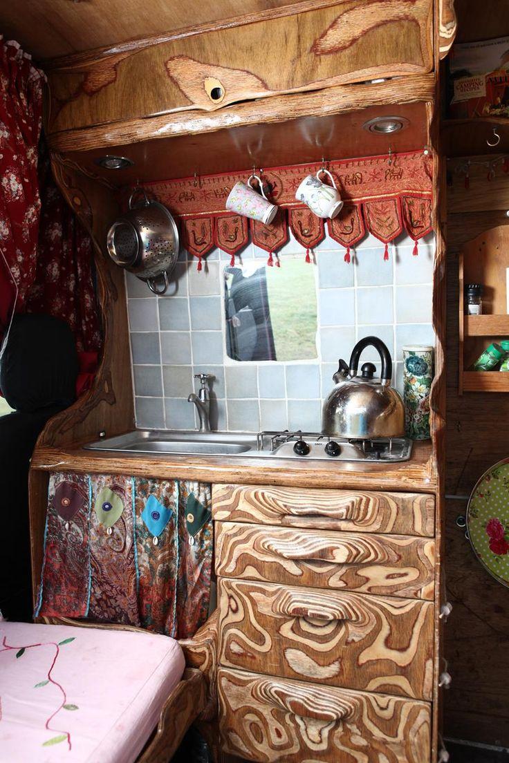 Bella Interior, Camper interior, Self build campervan