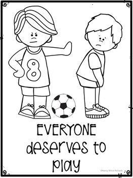 Anti-Bullying Activities Posters with Quotes and Coloring