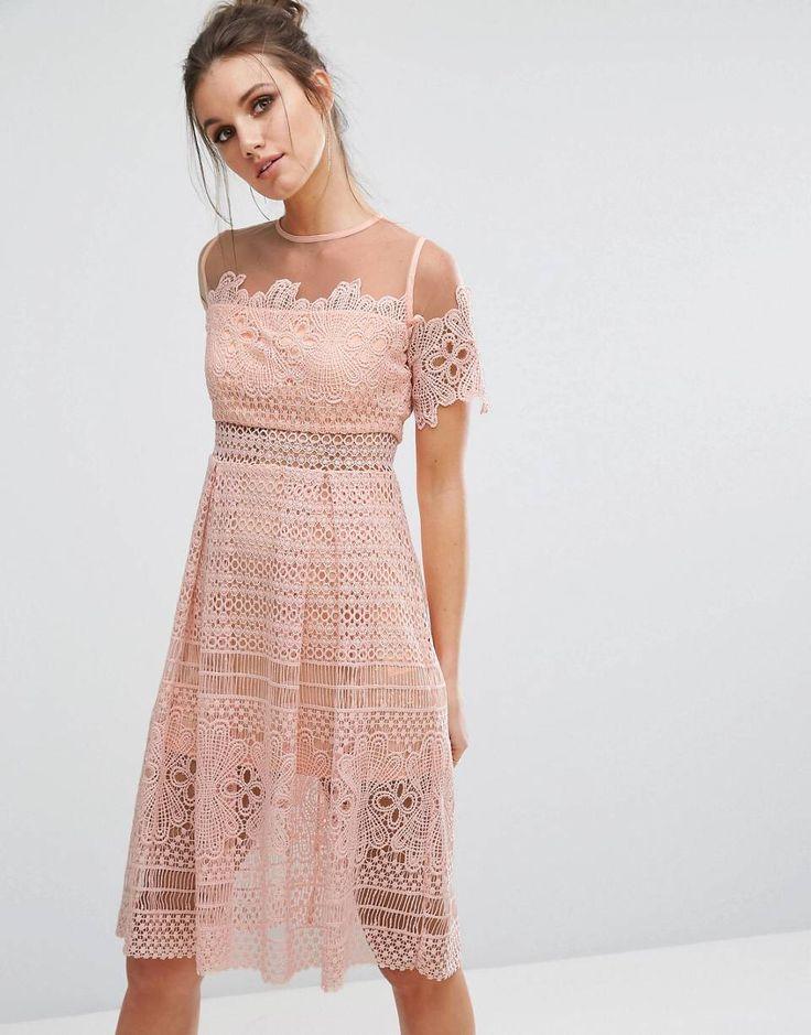 Lujoso Señorita Vestidos Prom Selfridge Cresta - Colección del ...