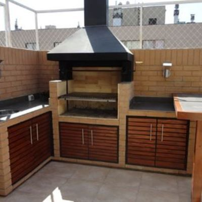 Best 25 asadores para patio ideas on pinterest dise o for Asadores para jardin de ladrillo