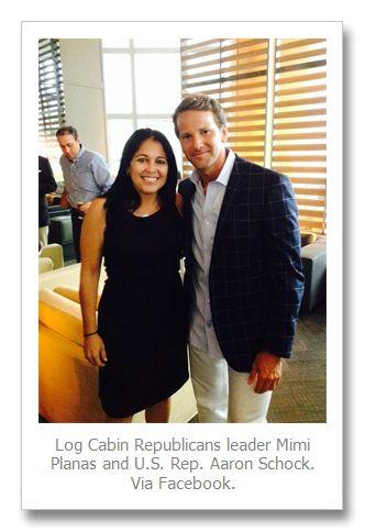 U.S. Rep. Aaron Schock campaigns in Miami with Young Republicans, gay Log Cabin Republicans