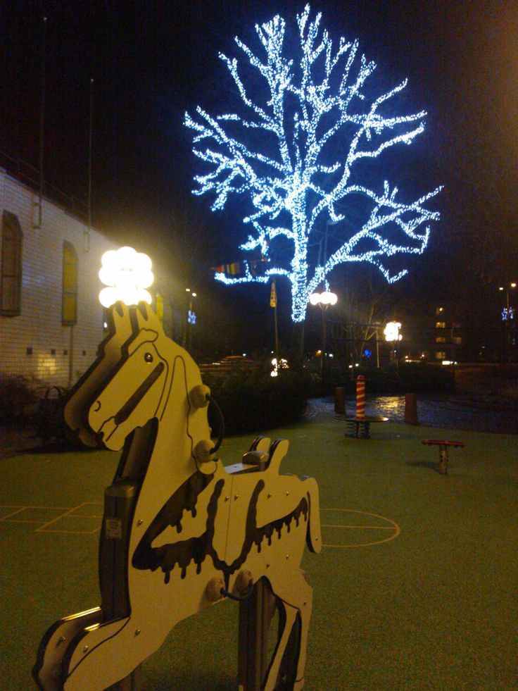 The new christmas ligth in Kerava winter 2013